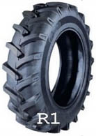 Backhoe-tires